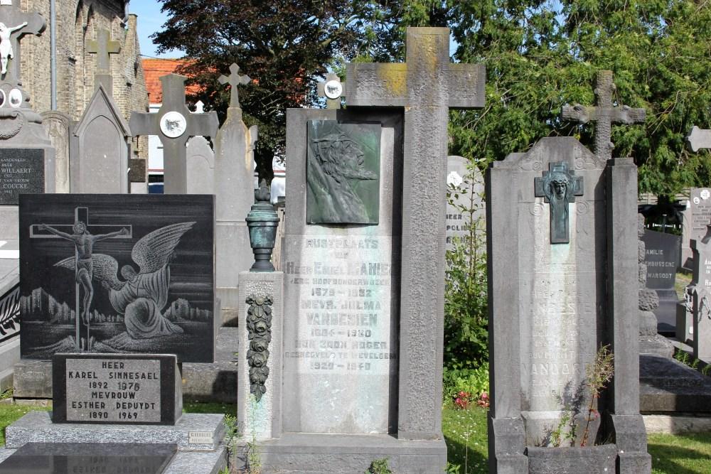 Belgian War Grave Leke