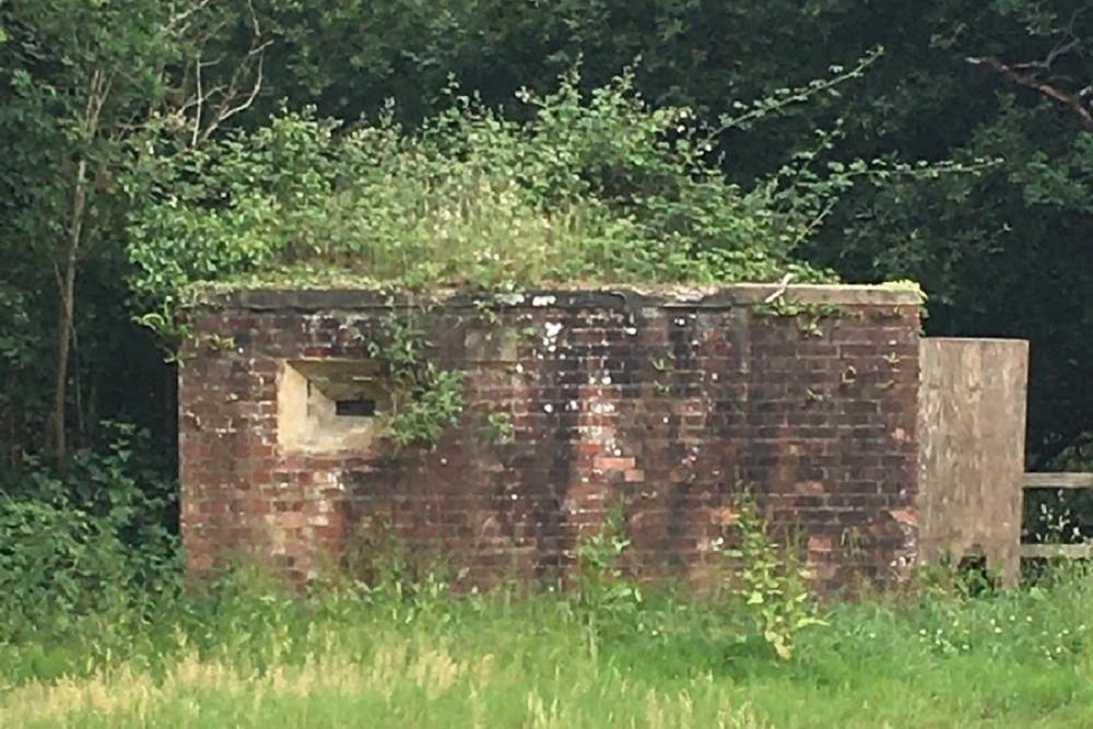 WW2 Bunker Hedge End Southampton