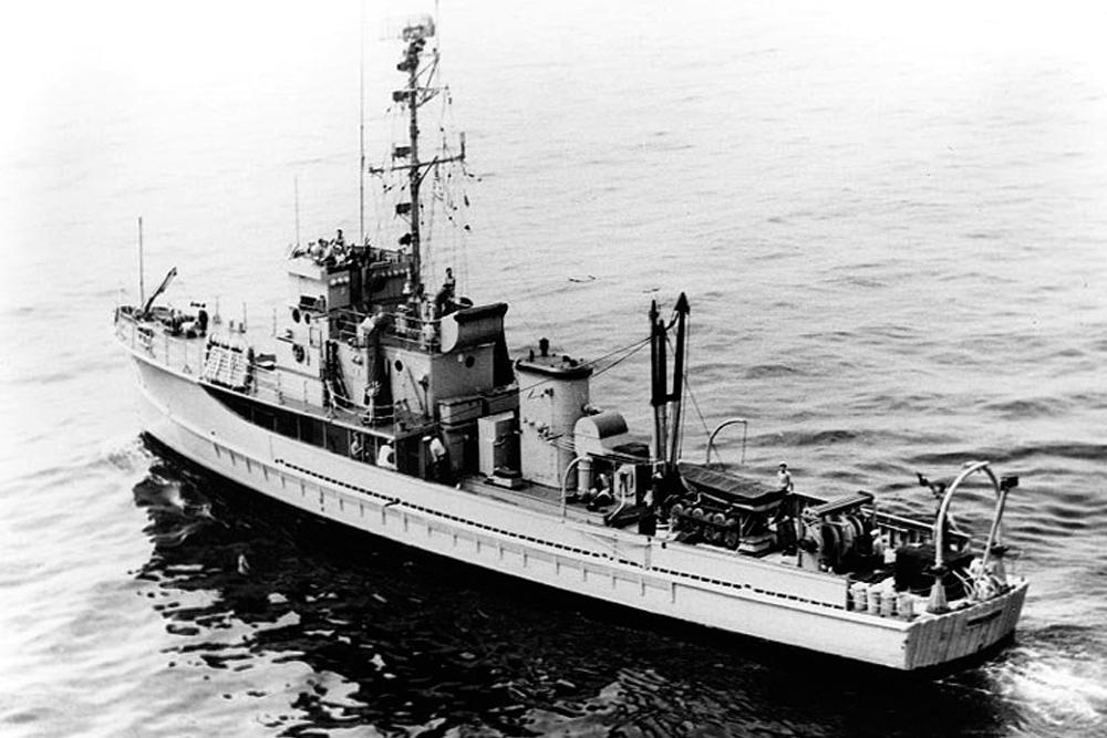Shipwreck U.S.S. YMS-21