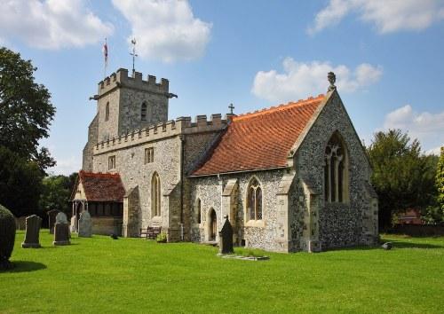 Oorlogsgraf van het Gemenebest Buckland Churchyard