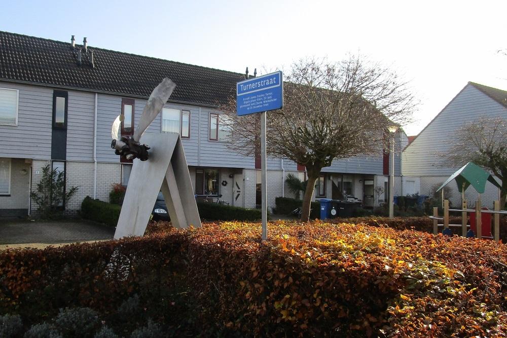 Monument Pilotenlaan Zwolle