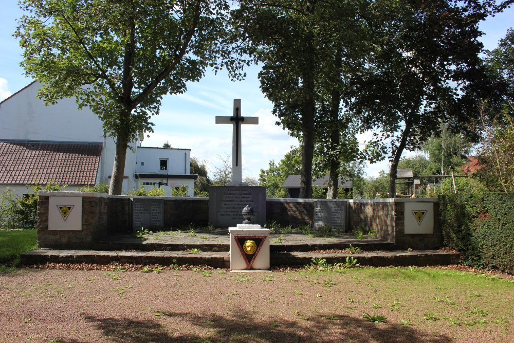 Monument Omgekomen Verzetsstrijders Limelette