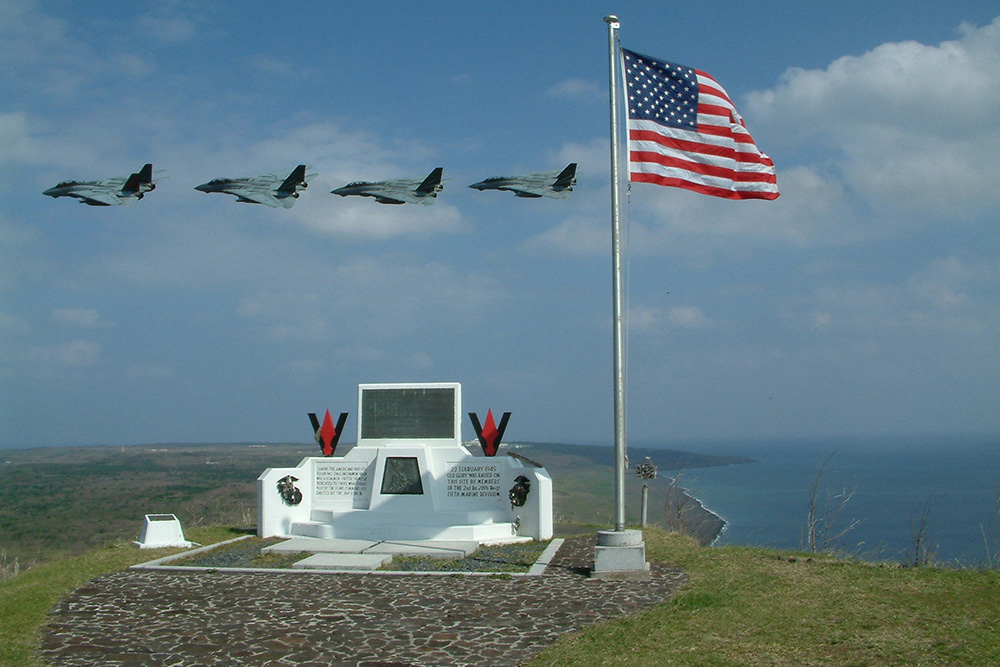 Amerikaans Iwo Jima Monument