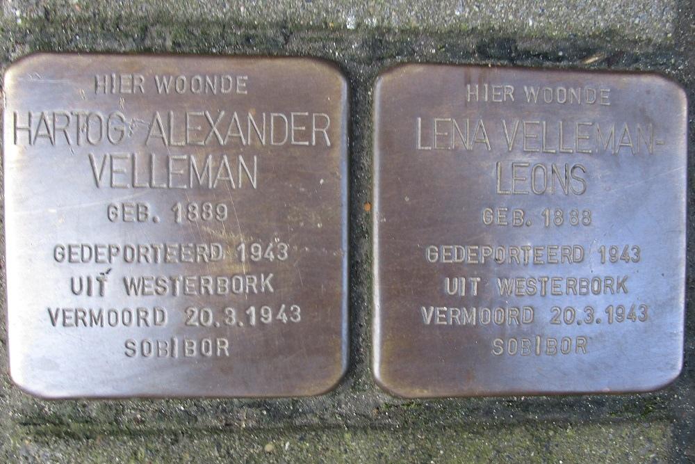 Remembrance Stones Gouwstraat 46b