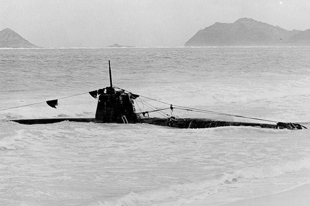 Scheepswrak HA-11 Type A Dwergonderzeeboot