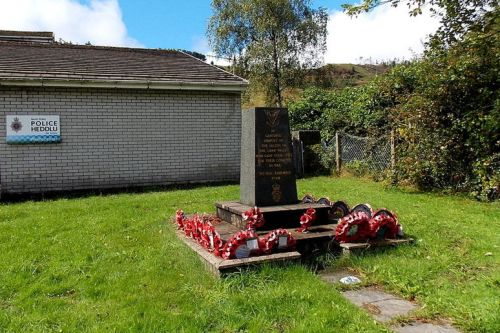 Oorlogsmonument Garw Valley