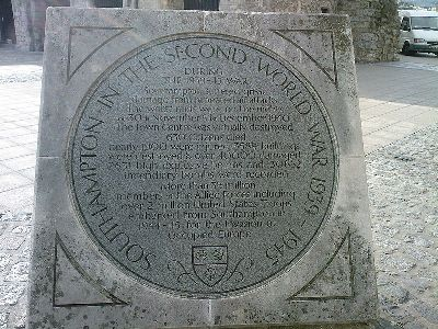Memorial Bombardments Southampton