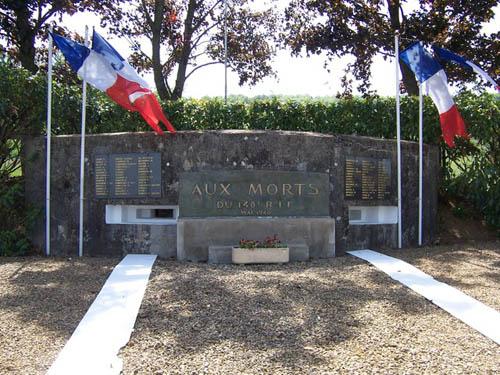 Maginot Line - Casemate & Memorial 148th RIF