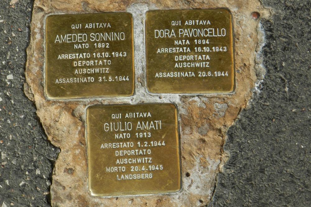 Stumbling Stones Via Catalana 1