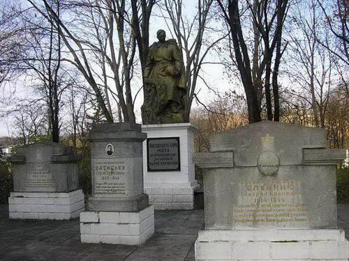 Mass Grave Soviet Soldiers Kamianets-Podilskyi