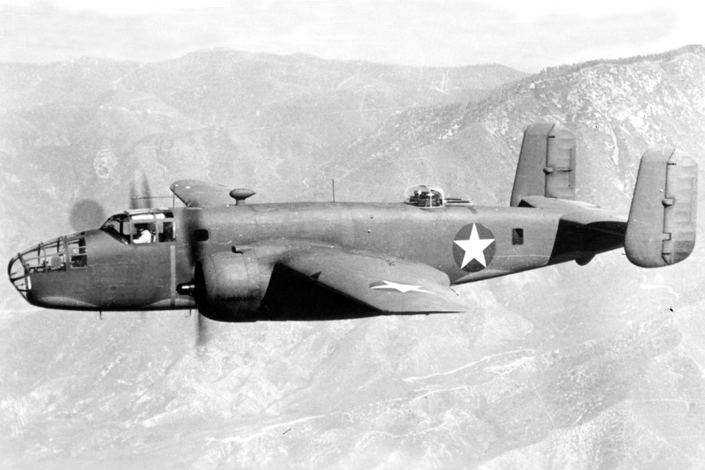 Crash Site B-25C-10 Mitchell 42-32319