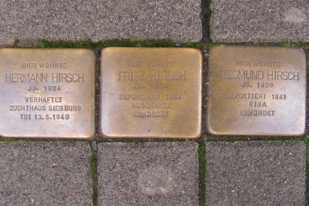 Stolpersteine Friesenstraße 71