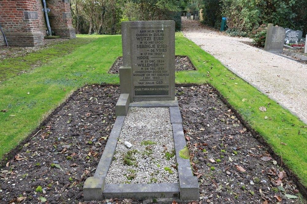 Nederlandse Oorlogsgraven Gemeentelijke Begraafplaats Schellinkhout