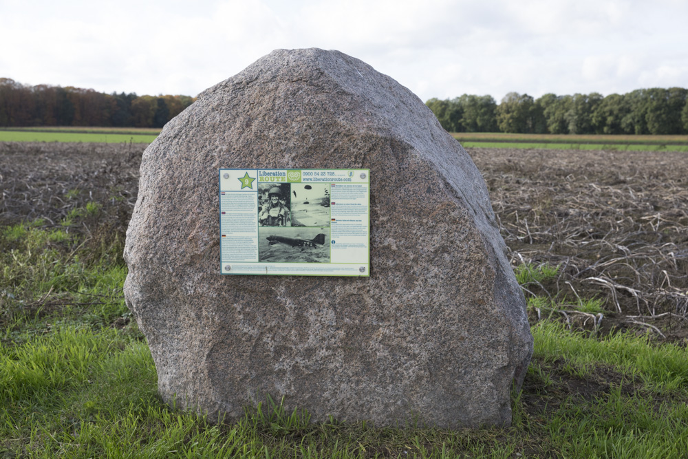 Liberation Route Marker 9