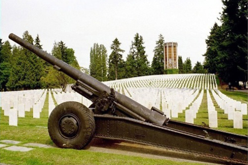 Amerikaanse Oorlogsgraven Evergreen Washelli Memorial Park