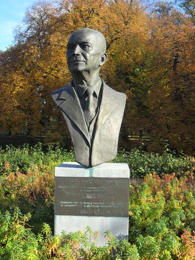 Borstbeeld Generaal Dwight David Eisenhower