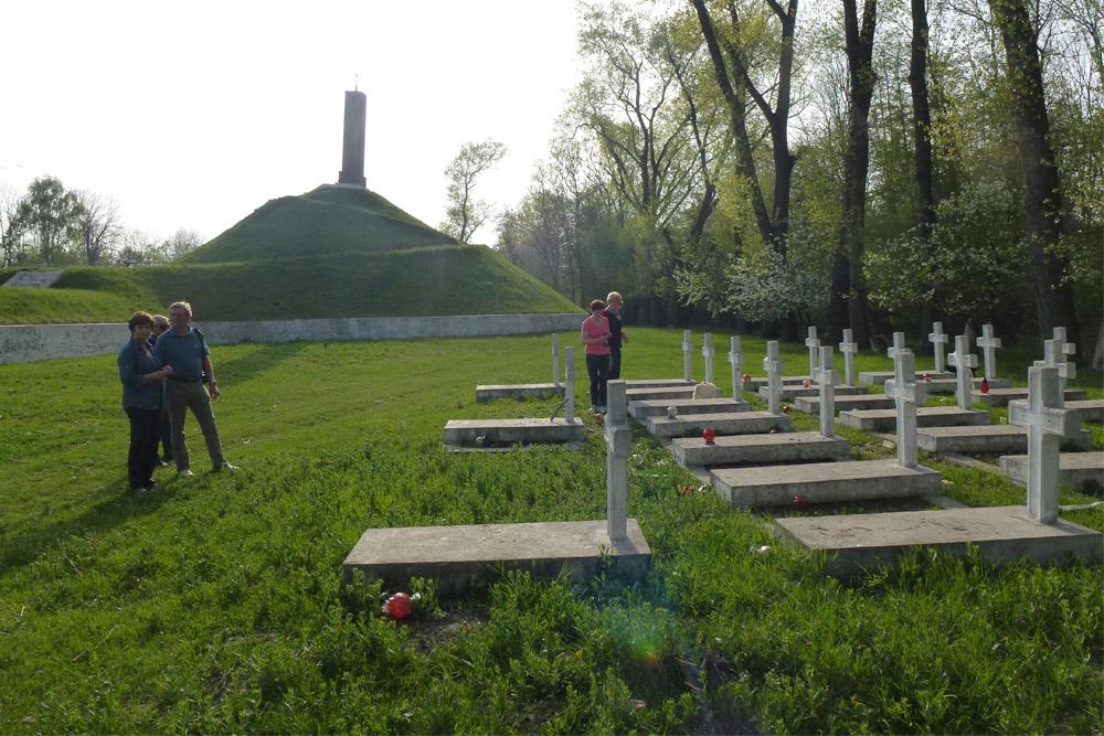 Poolse Oorlogsbegraafplaats Zadwórze