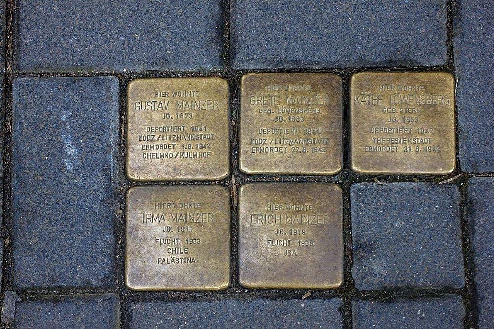 Stumbling Stones Windmühlstraße 5