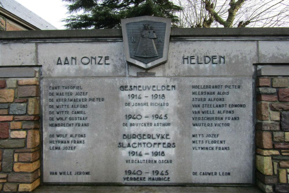 War Memorial Nieuwkerken