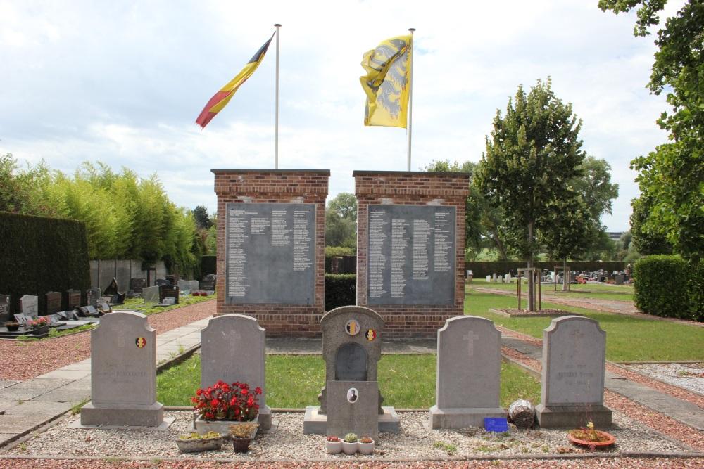 Belgian War Graves Wakken