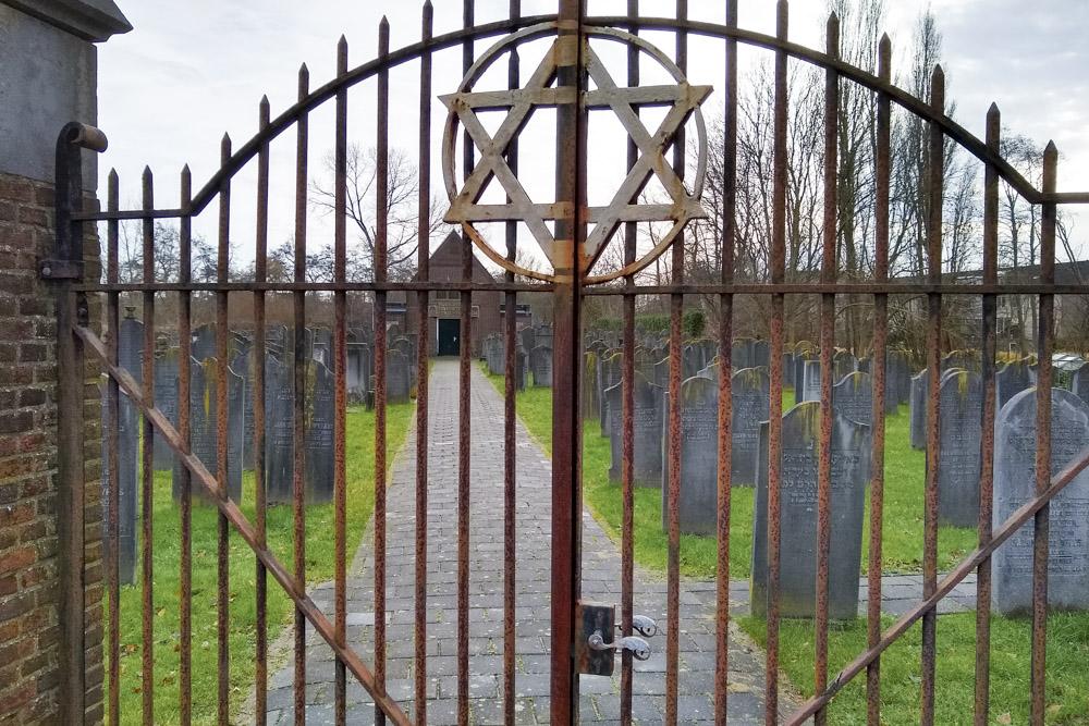 Nederlandse Oorlogsgraven Joodse Begraafplaats Amsterdamse Vaart
