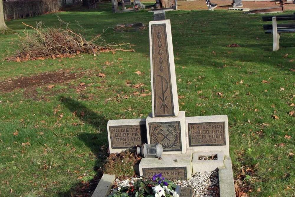 Nederlands Oorlogsgraf Gemeentelijke Begraafplaats Kaalheide