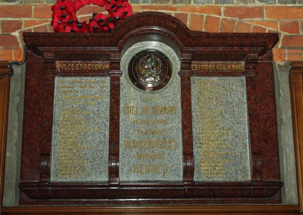 2nd Boer War Memorial Kendrick Boys School