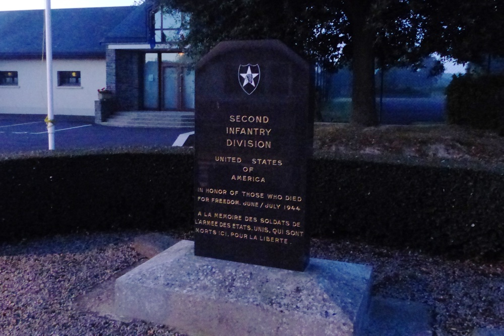 Monument Second Infantry Division