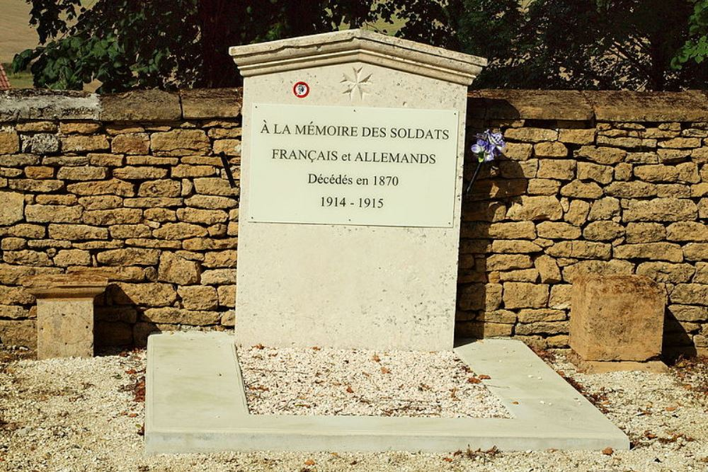 Memorial French and German Victims Buzancy