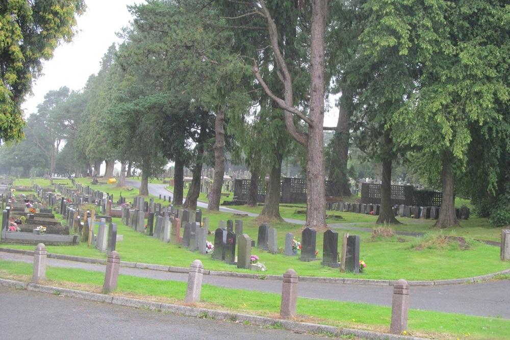 Commonwealth War Graves Rhymney Cemetery