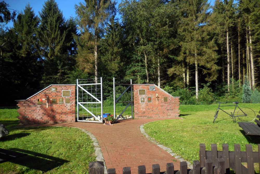 Stalag XIB (357) Memorial (The gate)