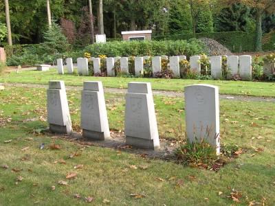 Tsjechoslowaakse Oorlogsgraven Algemene Begraafplaats Gilzerbaan