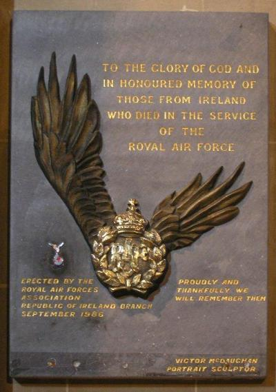 Plaquette Royal Air Force St Patrick Cathedral