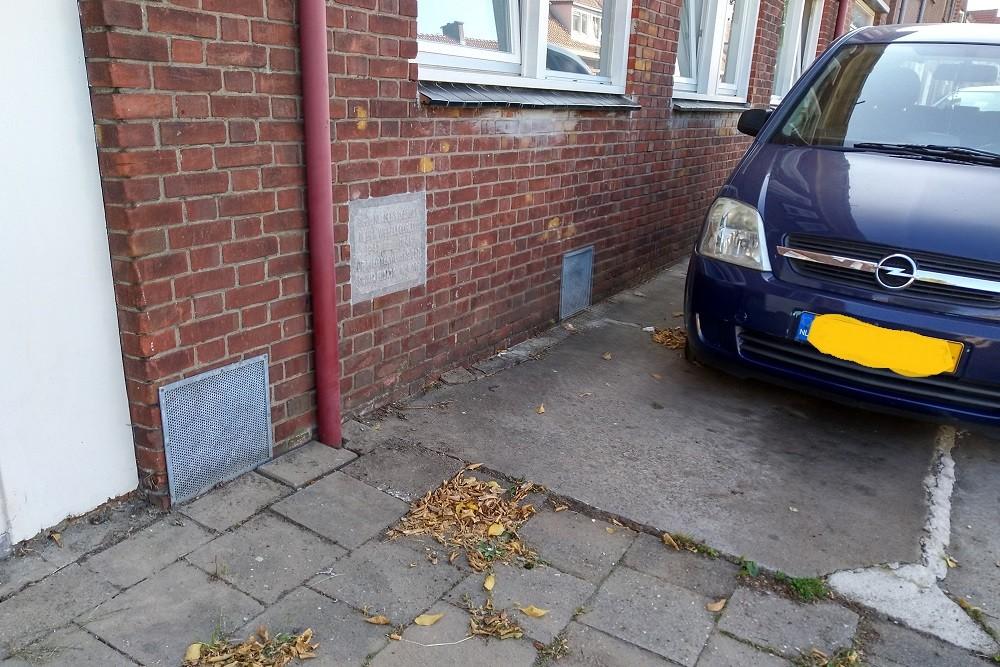 Memorial Air-Raid Shelter Floresstraat Enschede