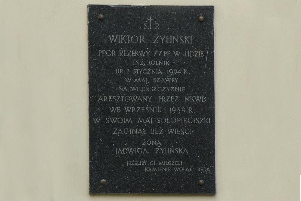 Plaquettes Kerk sw. Katarzyny