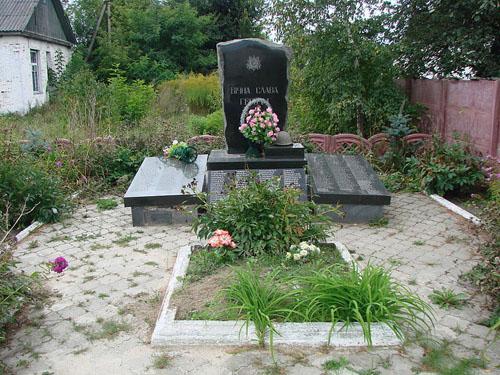 Mass Grave Soviet Soldiers Prystantsiine