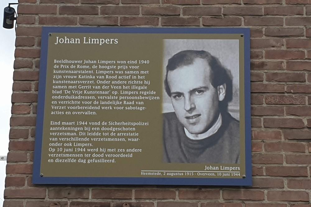 Memorial Plates Slotermeer Johan Limpersstraat