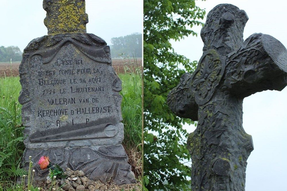 Remembrance Cross Lieutenant Valeran van de Kerchove d' Hallebast