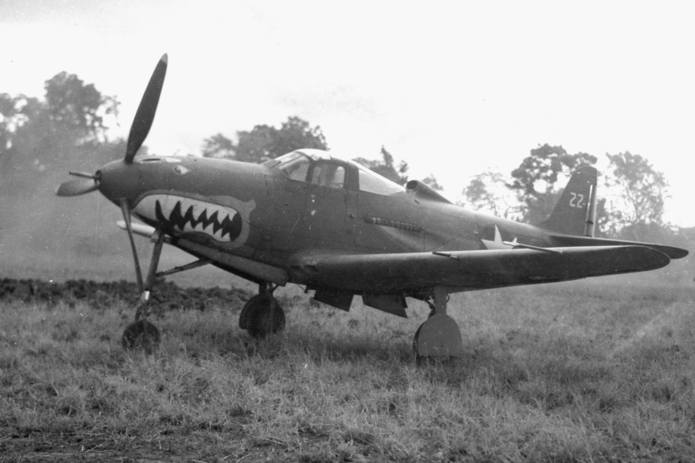 Crash Site P-400 Airacobra # AP335