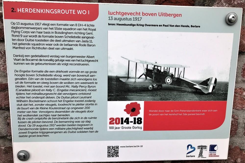 Herdenkingsroute 100 jaar Groote Oorlog - Informatiebord 2
