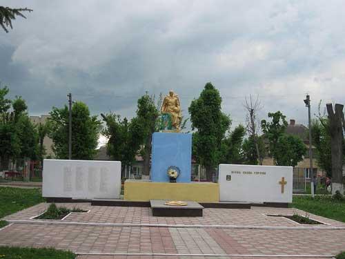 Mass Grave Soviet Soldiers Monastyryska