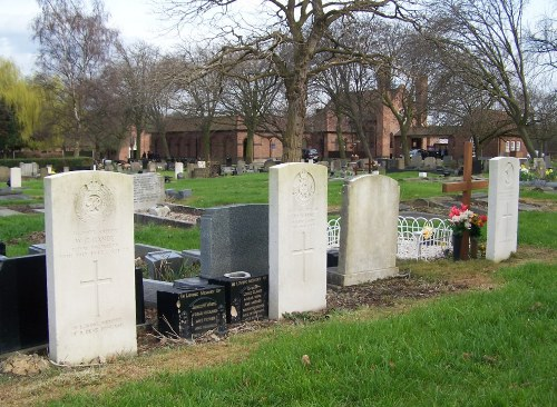 Commonwealth War Graves Cottingley Hall Cemetery
