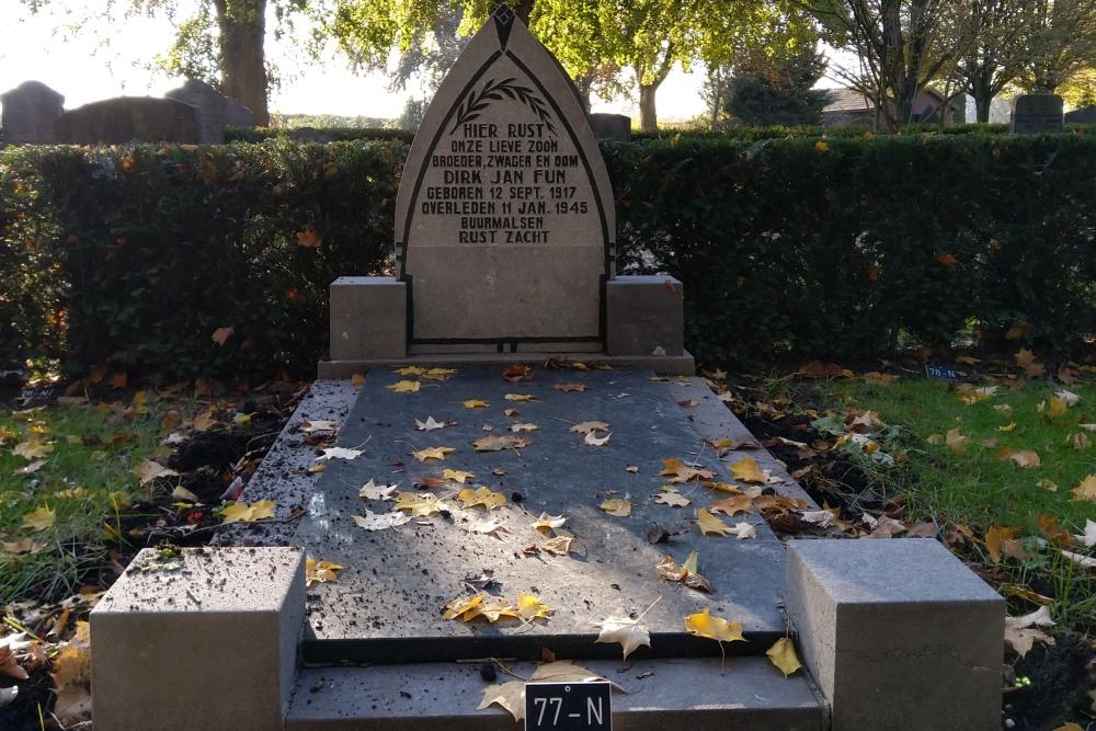 Nederlands Oorlogsgraf Gemeentelijke Begraafplaats Buurmalsen