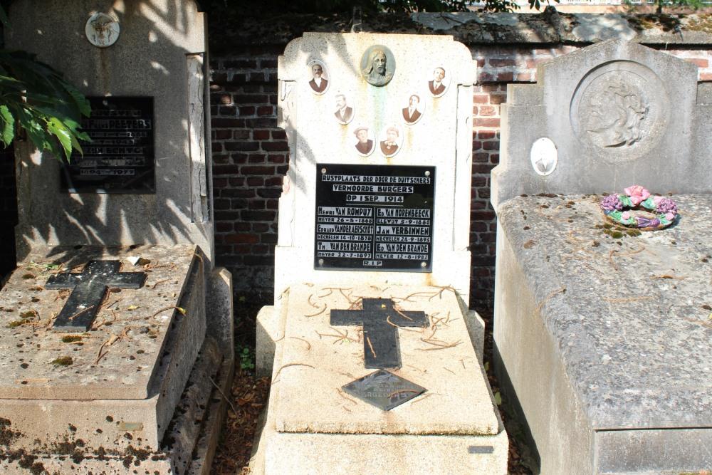 Collective Grave Civilian Casualties Schiplaken