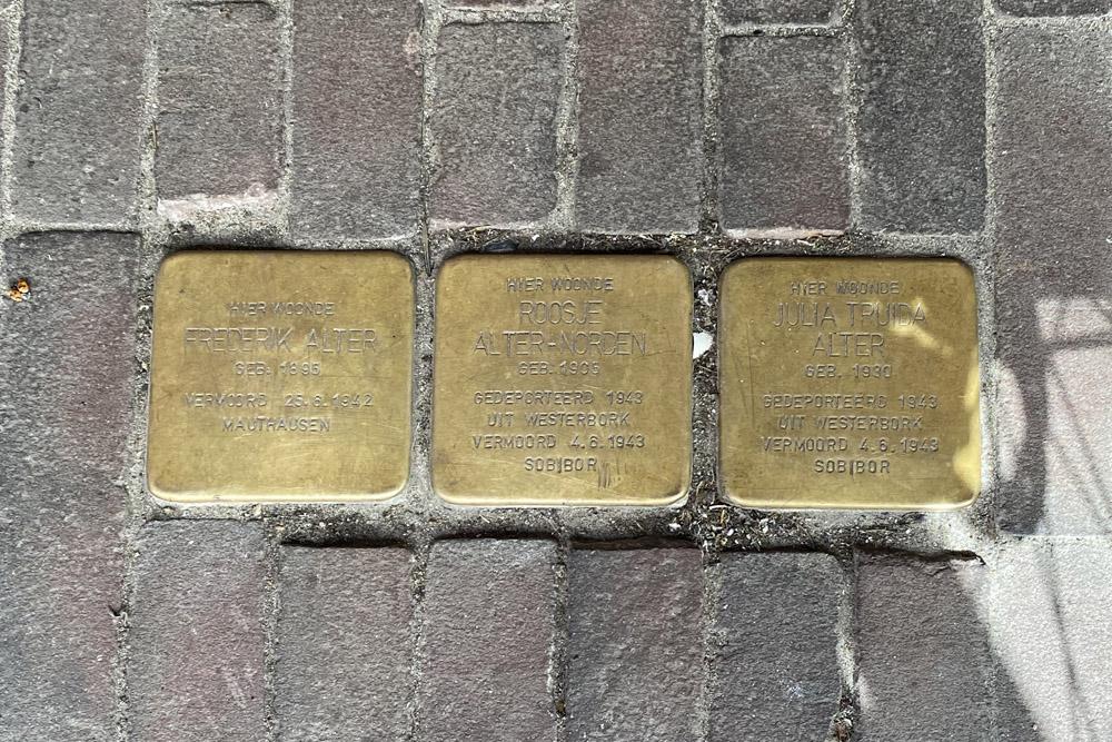 Stolpersteine Keizerstraat 65
