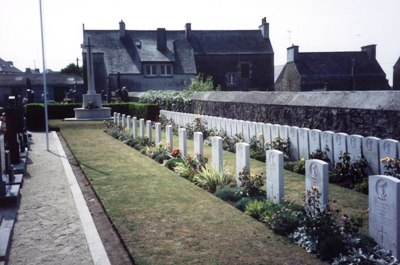 Commonwealth War Graves Plouescat