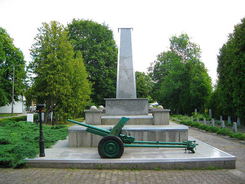 Sovjet Oorlogsbegraafplaats Rzepin