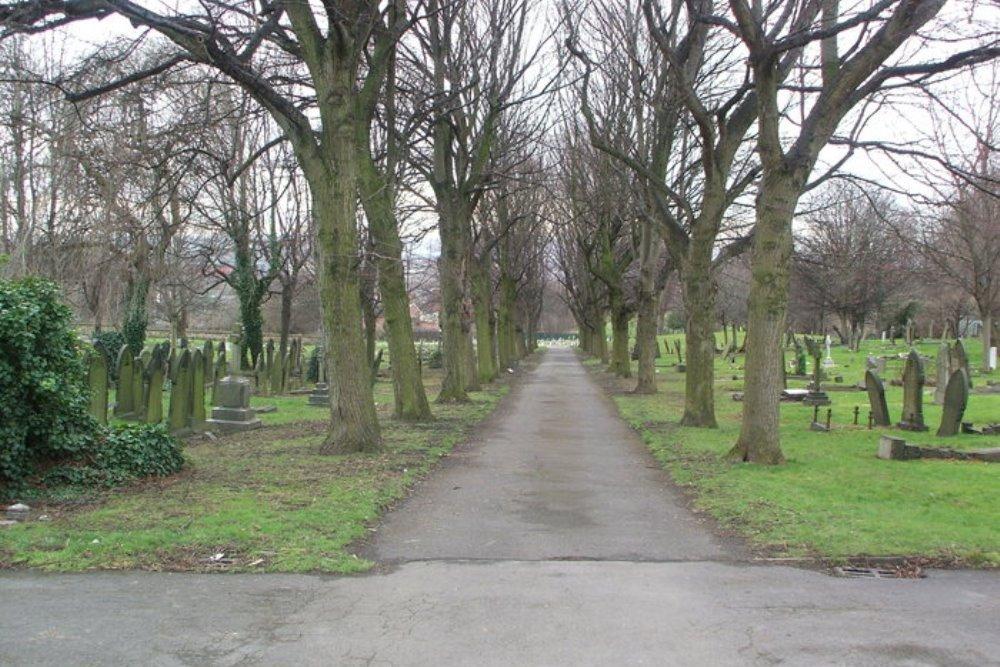 Oorlogsgraven van het Gemenebest Masbrough Cemetery