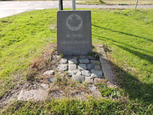 Marker No. 7 Canadian Liberation Route