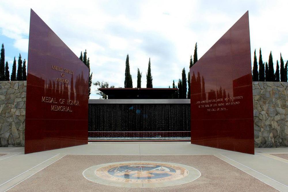 Medal of Honor Monument Riverside National Cemetery